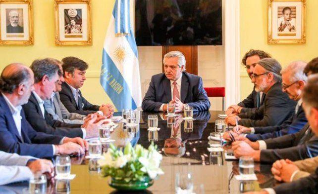 El presidente Alberto Fernández ya mantuvo reuniones con la Mesa de Enlace.