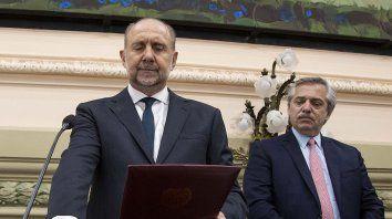 fernandez se solidarizo con perotti: no se debe tolerar a los violentos