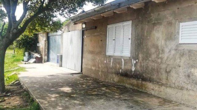 La vivienda donde vivía la mujer presuntamente abusada por su propio padre.