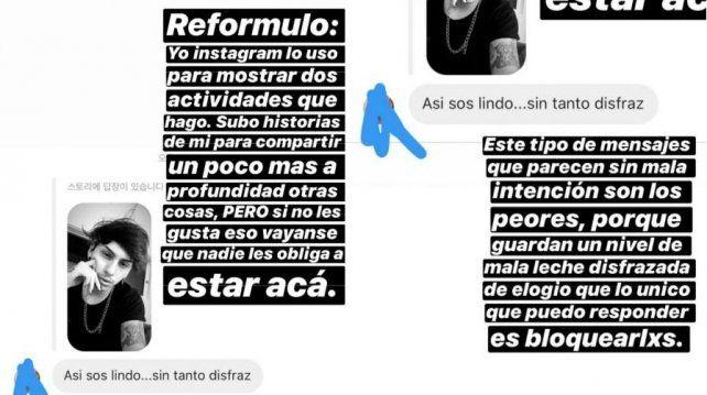Estanislao Fernández reaccionó tras ser discriminado en redes