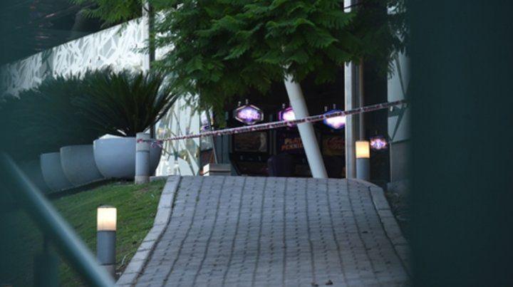 Escena. El ataque contra el casino fue en el ala este del edificio.