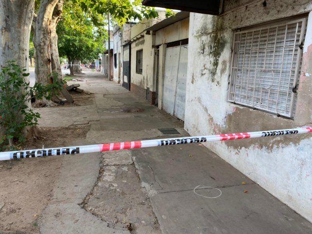 El joven fue asesinado por dos desconocidos que circulaban en moto.