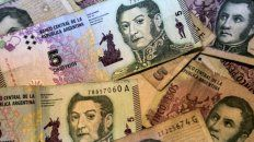Postergaron el retiro de circulación de los billetes de 5 pesos