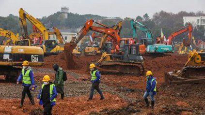 Los trabajos concluirán en tiempo récord, y el hospital, de 25.000 m2, abrirá el 3 de febrero.
