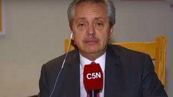 Fernández dijo que el aumento a los jubilados será en abril
