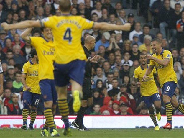 Arsenal se recuperó y venció al Fulham en la Premier League