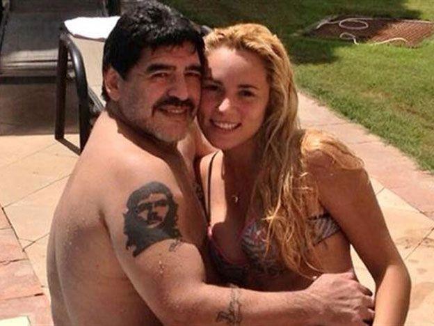 ¡Epa! La curiosa y sexy foto de Diego Maradona