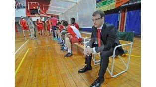 Juan Siemienczuk está cumpliendo su quinta temporada como entrenador jefe de Unión (SF).