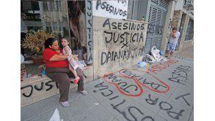 Los familiares de Daiana Buratti./ Manuel Testi.