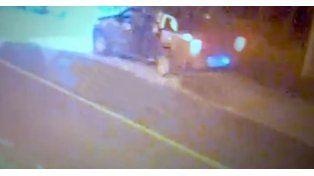 Los prófugos se tirotearon con la policia durante un control en la ruta.