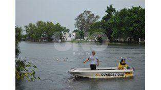 El río Paraná mide 6,36 metros en Santa Fe en el primer día del 2016