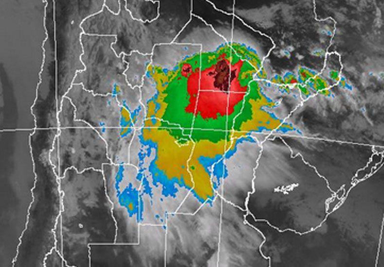 Rige un alerta meteorológico para el norte provincial