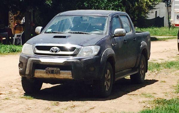 Hallado. El vehículo 4x4 de doble cabina robado apareció en cercanías de la Sociedad Rural de Venado Tuerto.