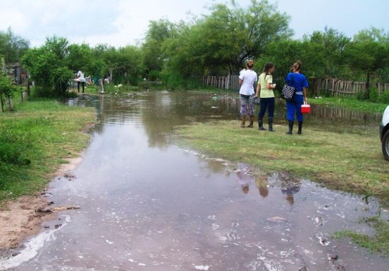El Municipio de Santo Tomé asiste a las familias afectadas
