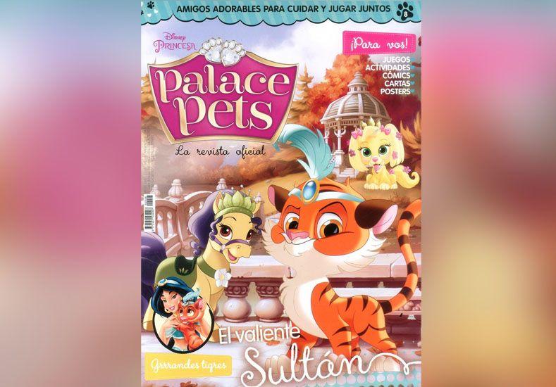 Pedí este martes la revista nº 8 de Palace Pets de Disney Princesas