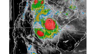 Imagen de radar./ SMN
