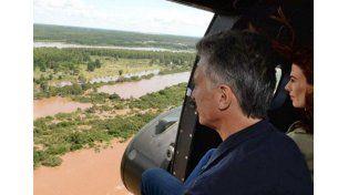 Macri pondrá en funcionamiento el sistema para detección temprana de fenómenos naturales