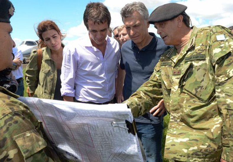 Inundaciones: Macri anunció inversiones para dar solución definitiva