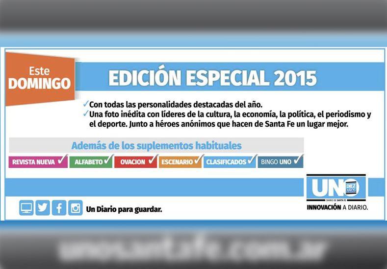 Este domingo con el UNO pedí la edición especial de los Destacados 2015