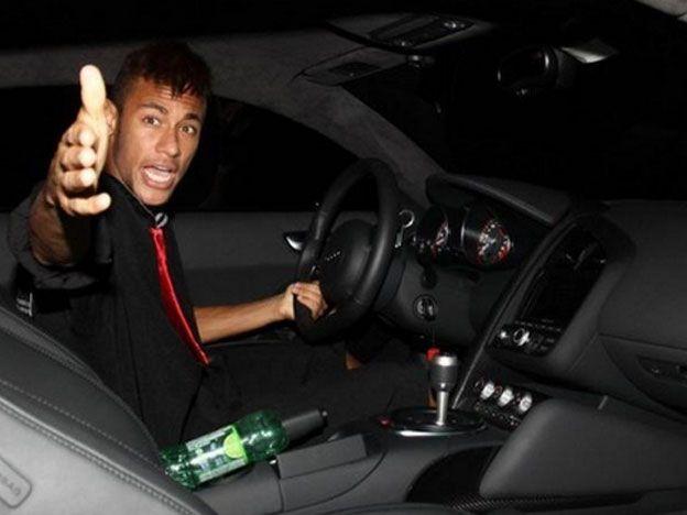 Se burlaron de Neymar con esta foto y Twitter eliminó la cuenta