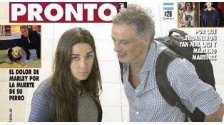 La revista Pronto anticipó su portada de esta semana en la que muestra a Juana y Cabrera juntos.