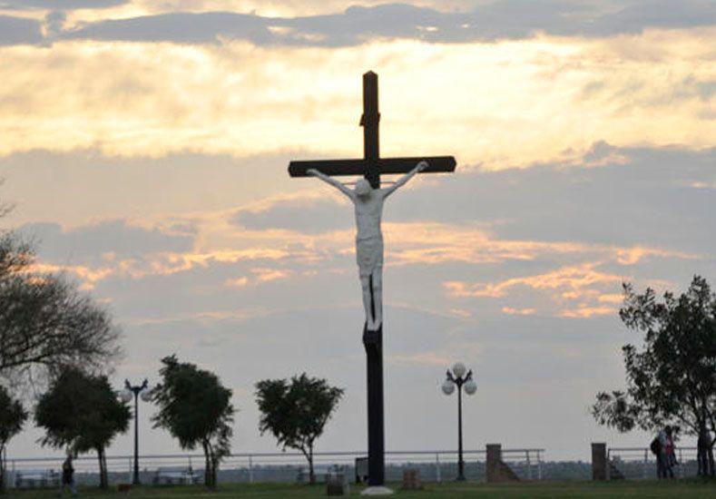 El monumento ubicado en la localidad santafesina de San Lorenzo./ gentileza SL24.