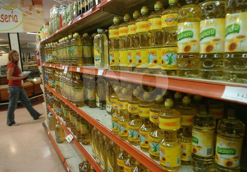 No comprar. Los precios de los productos en las góndolas aumentan semana a semana. UNO de Santa Fe/Manuel Testi