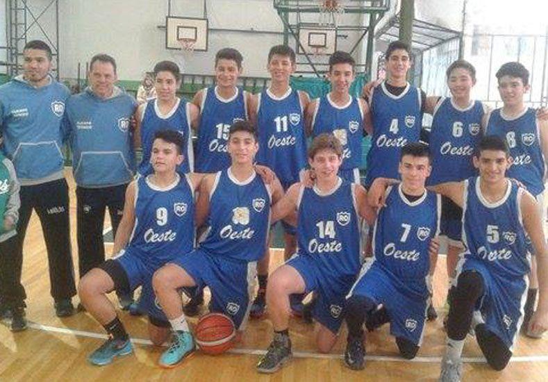República del Oeste ganó el triangular de la zona H en Rosario.