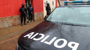 Varios detenidos y secuestro de drogas en 50 allanamientos en toda la provincia