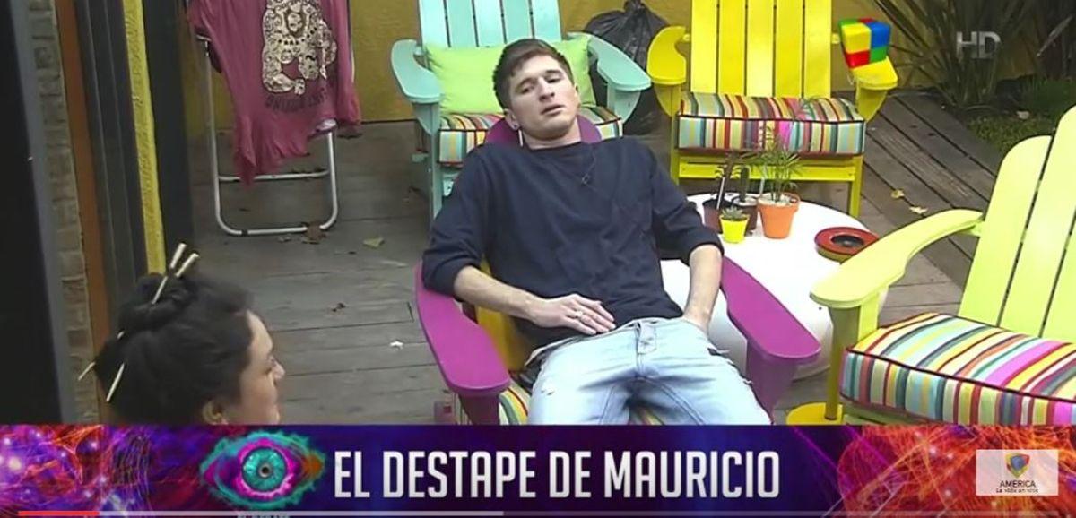 Mauricio confesó con qué chica de La Casa pasaría la noche