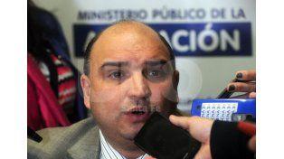 Aclarado. El fiscal Roberto Apullán confirmó ayer que los peritajes fueron remitidos de Gendarmería.   UNO de Santa Fe/Mauricio Centurión