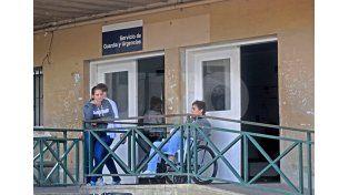 Cullen. Uno de los hospitales de referencia del centro norte de la provincia ayer tenía poca cantidad de vacunas. UNO de Santa Fe/Manuel Testi