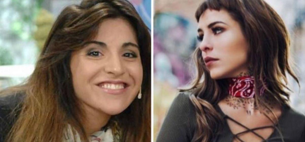 Gianinna Maradona volvió a meterse con Cande Tinelli: Todos podemos ver que está operada