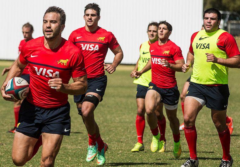 Los Pumas se preparan para enfrentar a Italia en Santa Fe
