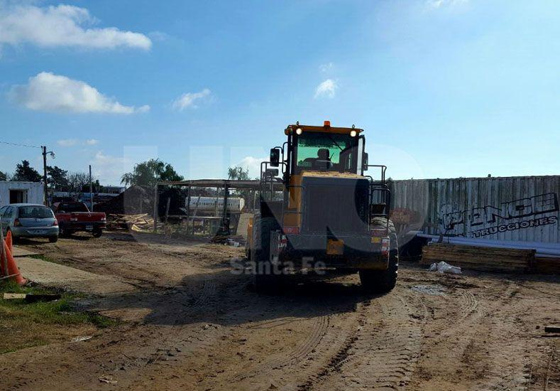 La empresa constructora Ponce decidió reforzar todos los contenedores metálicos como así las medidas de seguridad