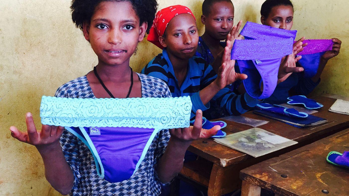 El invento latinoamericano que revolucionó la menstruación de miles de niñas