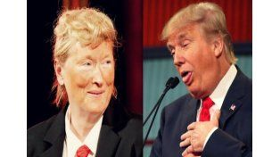 Meryl Streep parodió a Donald Trump