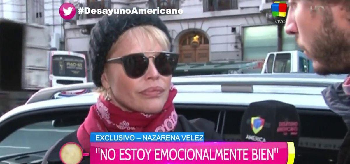 Nazarena: Que Carmen no me llame, quiero esa familia lejos