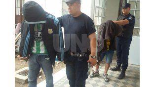 En Bº Roma. La detención de Pitu se dio el pasado 3 de abril. Según la Policía tenía un revólver 38.