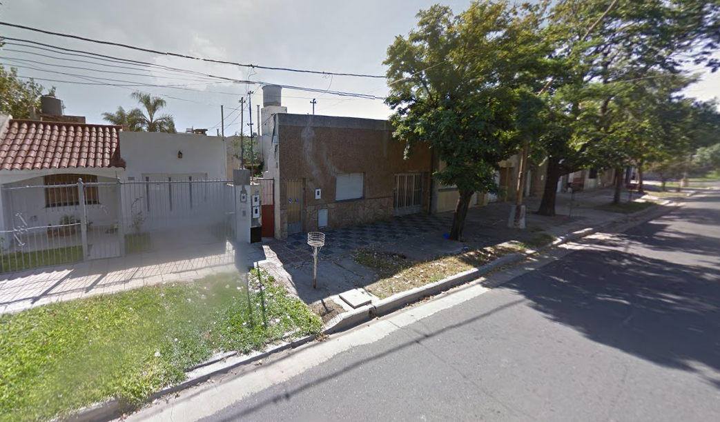Foto: captura de Google Maps de Avellaneda al 3800