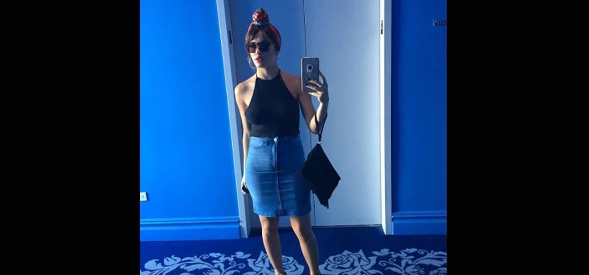 Osado y sensual look de Lali: se animó a caminar por Nueva York sin ropa interior
