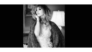 Embrazada de cinco meses: Celeste Cid, sensual y bellísima en una producción de fotos