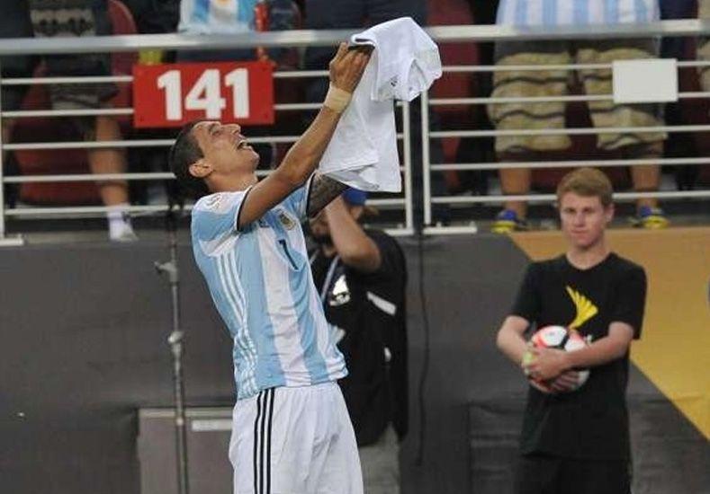 El llanto de Di María tras el gol y la pérdida de un ser querido