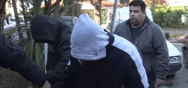 Las imágenes del allanamiento que terminó con la detención del hermano de Noelia Pompa