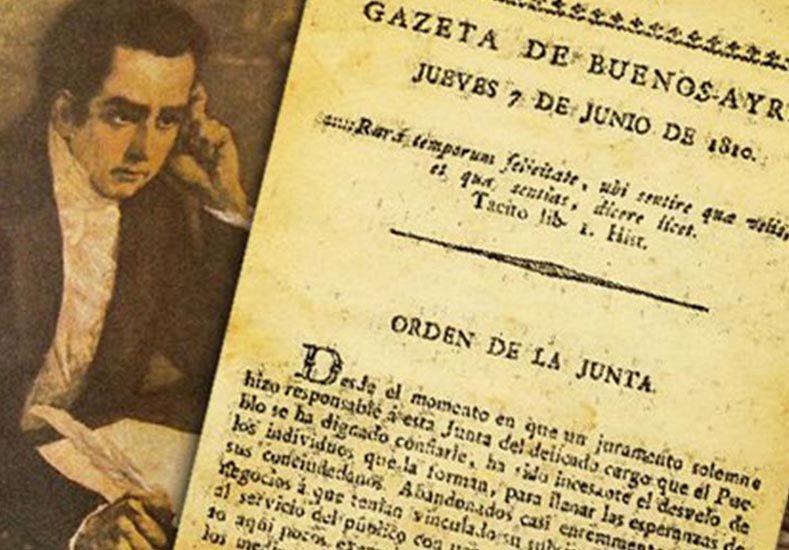 Primer número. Hace 206 años se distribuía el primer ejemplar de La Gazeta.