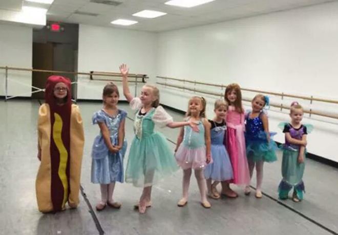 Una nena ganó un concurso de princesas con un disfraz original (e inesperado)