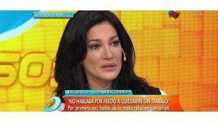 Silvina Escudero contó su verdad: Me estaba muriendo, me hacía pis encima