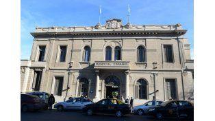 El nosocomio en donde se encuentra internada la beba en la ciudad de Rosario.