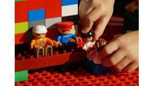 Adaptados. La administradora de la propuesta detalló que los datos de edad del niño participante es un dato importante respecto del tipo de juguetes que recibirá.