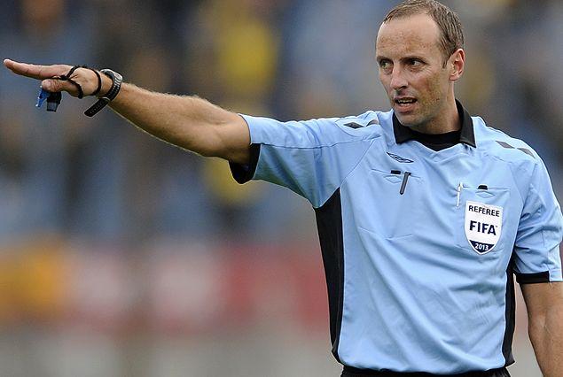 El árbitro de Argentina-Chile